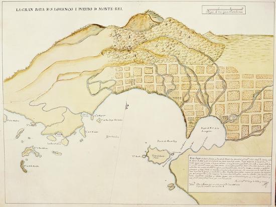 Saint Lawrence Bay and Monterey Harbor, California--Giclee Print