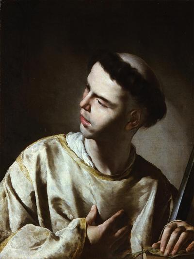 Saint Lawrence-Bernardo Cavallino-Giclee Print