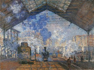 Saint Lazare Station-Claude Monet-Art Print
