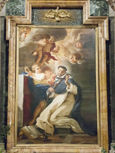 Saint Louis Bertrand in Ecstasy, 1673-Giovanni Battista Gaulli-Giclee Print