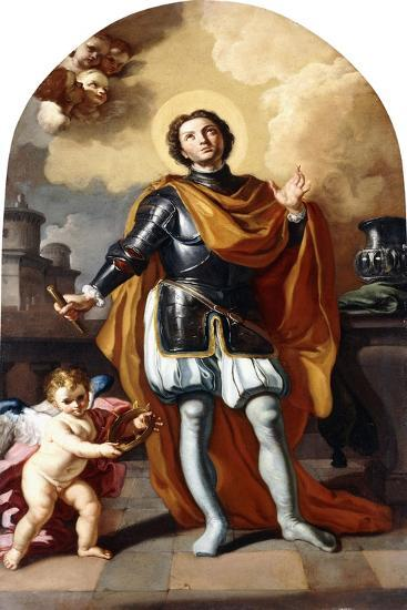 Saint Louis of France-Francesco Solimena-Giclee Print