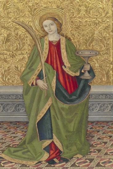 Saint Lucy, C.1500-Jaume Verg?s the Younger-Giclee Print