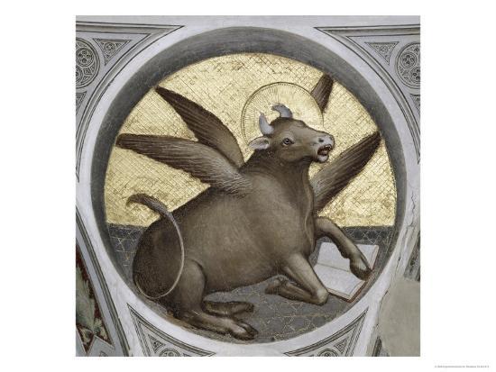 Saint Luke as an Ox-Giusto De' Menabuoi-Giclee Print