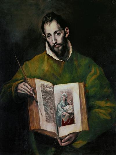 Saint Luke Evangelist-El Greco-Giclee Print