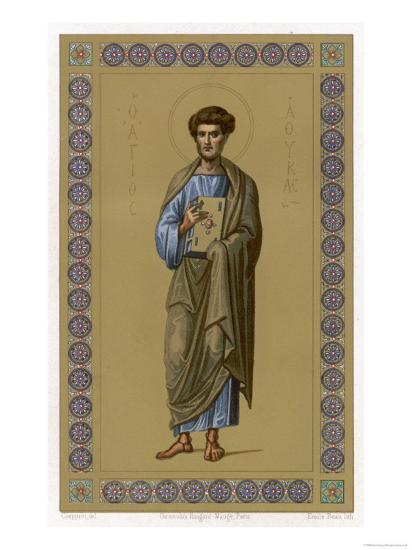 Saint Luke the Evangelist Doctor and Painter--Giclee Print
