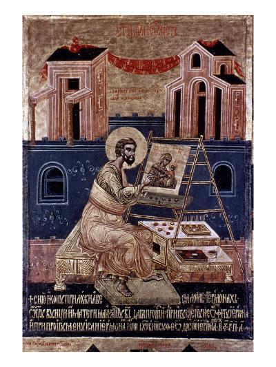 Saint Luke-Master Apsalon Vujicic-Giclee Print