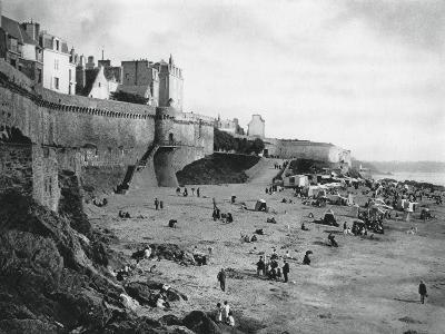 Saint-Malo, France, Brittany, 1937-Martin Hurlimann-Giclee Print