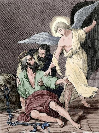 Saint Marcelino and Saint Peter, Martyrs, Rome, 304 Ad--Giclee Print