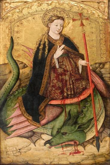 Saint Margaret-Juan Rexach-Giclee Print