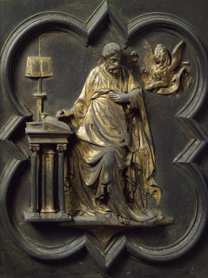 Saint Mark Evangelist, Bronze Panel--Giclee Print
