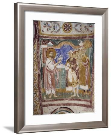 Saint Mark Sending Saint Hermagoras to Roman Province of Aquileia to Convert Population--Framed Photographic Print