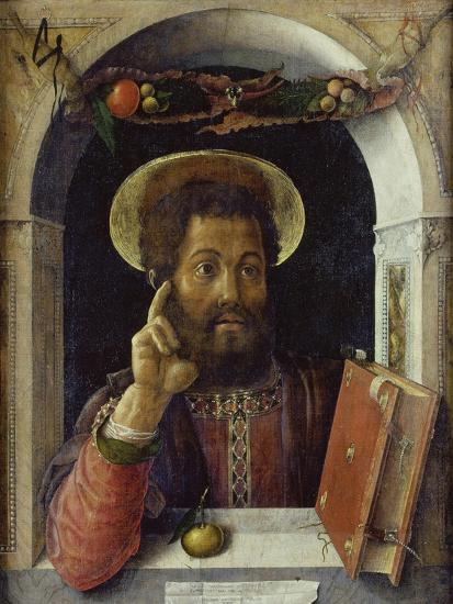 Saint Mark the Evangelist-Andrea Mantegna-Giclee Print