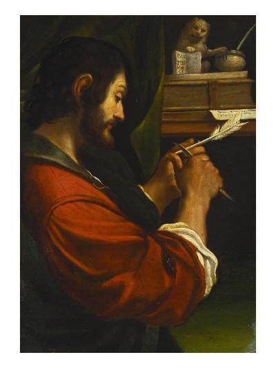 Saint Mark-Giovanni Francesco Barbieri (Studio of)-Giclee Print