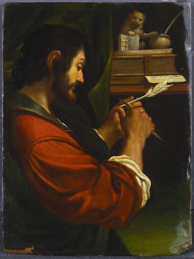 Saint Mark-Guercino (Giovanni Francesco Barbieri)-Giclee Print