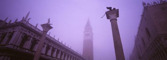 Saint Marks Square, Venice, Italy--Photographic Print