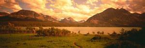 Saint Mary Lake, Montana, USA