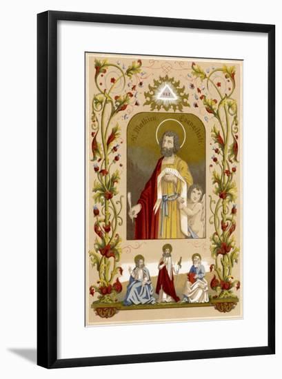 Saint Matthew the Evangelist--Framed Giclee Print