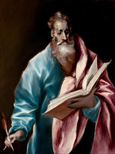 Saint Matthew the Evangelist-El Greco-Giclee Print