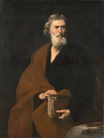 Saint Matthew the Evangelist-Jos? de Ribera-Giclee Print