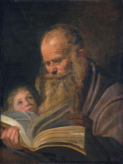 Saint Matthew the Evangelist-Frans I Hals-Giclee Print
