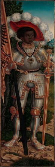 Saint Maurice, c.1520-25-Lucas the Elder Cranach-Giclee Print
