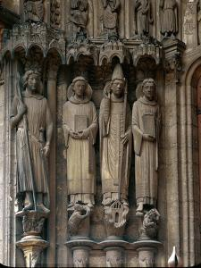 Saint Maurice, Saint Stephen, Pope Clement and Saint Lawrence