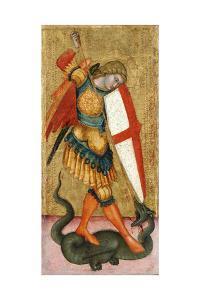 Saint Michael and the Dragon, 14th Century