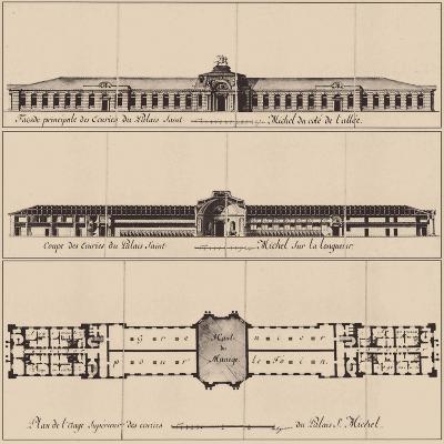Saint Michael's Castle in Saint Petersburg, 1797--Giclee Print