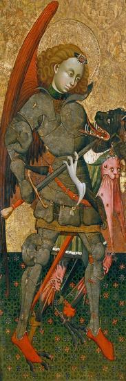 Saint Michael the Archangel, C. 1440-Blasco de Gra??n-Giclee Print