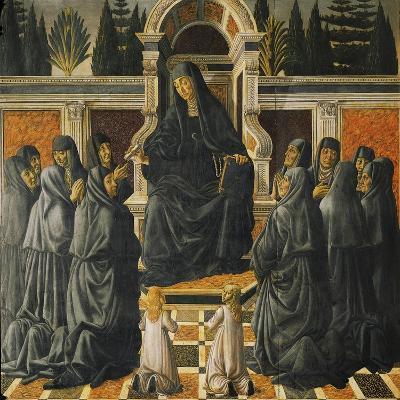 Saint Monica-Andrea del Verrocchio-Giclee Print