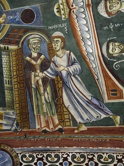Saint Nicholas Going Back into Monastery--Giclee Print