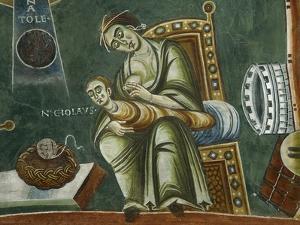 Saint Nicholas Refusing His Mother's Milk