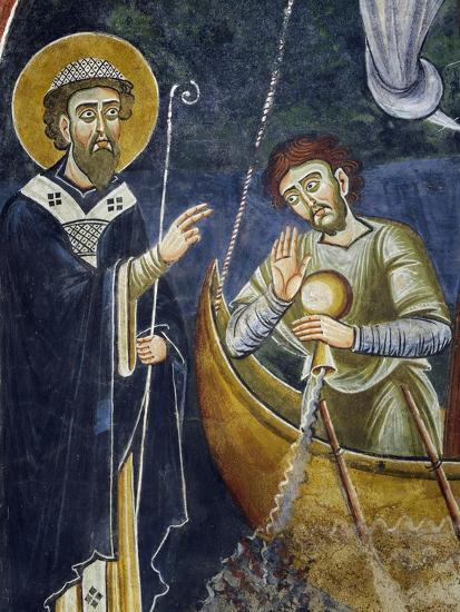 Saint Nicholas Saving Pilgrims from Shipwreck--Giclee Print