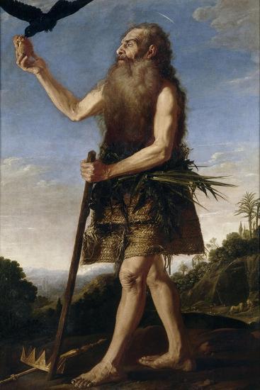 Saint Onuphrius, Ca. 1645, Spanish School-Francisco Collantes-Giclee Print