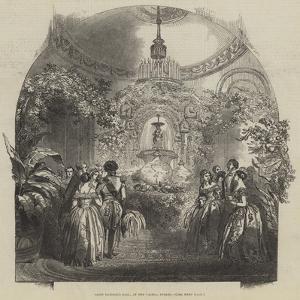 Saint Patrick's Ball, at the Castle, Dublin