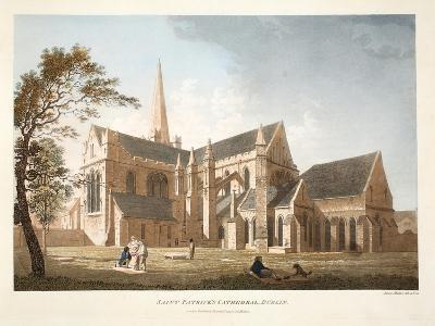Saint Patrick's Cathedral, Dublin, 1793-James Malton-Giclee Print