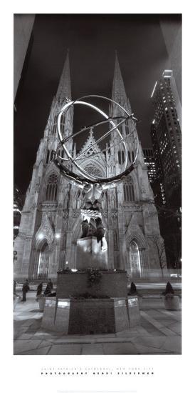 Saint Patrick's Cathedral, New York City-Henri Silberman-Art Print