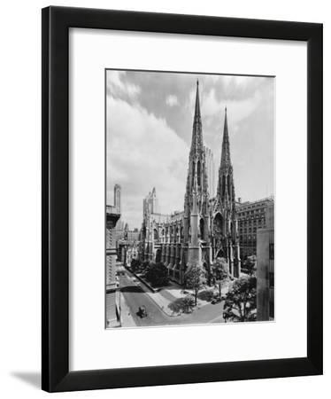 Saint Patrick's Cathedral--Framed Photographic Print
