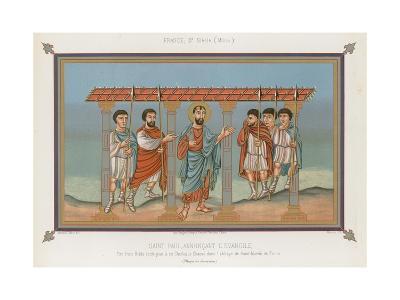Saint Paul Announcing the Gospel--Giclee Print