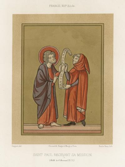 Saint Paul Receiving His Mission--Giclee Print