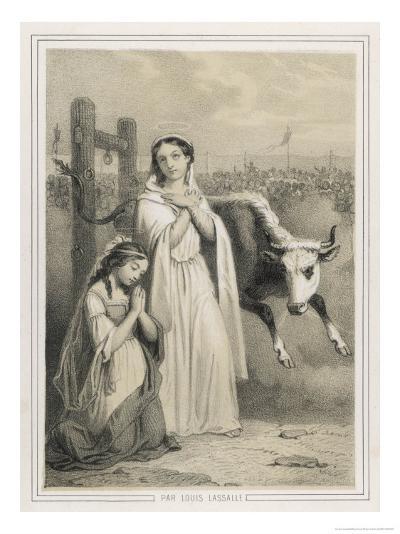 Saint Perpetua-Louis Lassalle-Giclee Print
