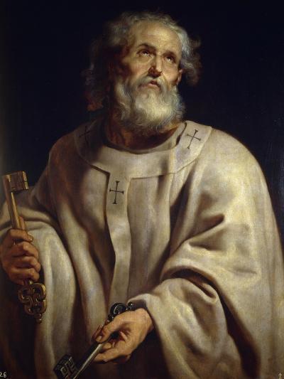 Saint Peter, c. 1611-Peter Paul Rubens-Giclee Print
