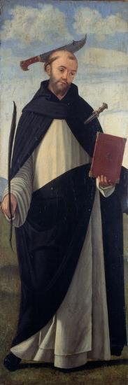 Saint Peter Martyr-Vittore Carpaccio-Giclee Print