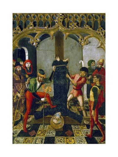 Saint Peter's Crucifixion, 1500, Detail from Retable--Giclee Print