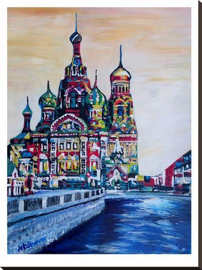 Saint Petersburg-M Bleichner-Stretched Canvas Print