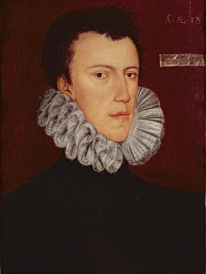 Saint Philip Howard, 13th Earl of Arundel-George Gower-Giclee Print