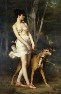 Diana the Huntress by Saint-Pierre Gaston Casimir