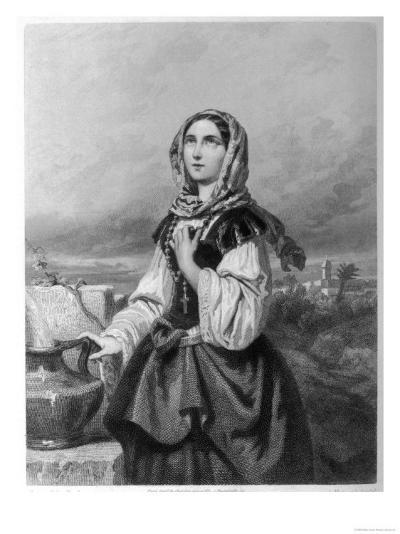 Saint Rosa di Lima Mystic--Giclee Print