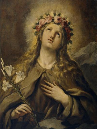 Saint Rosalia, Ca. 1697, Italian School-Luca Giordano-Giclee Print