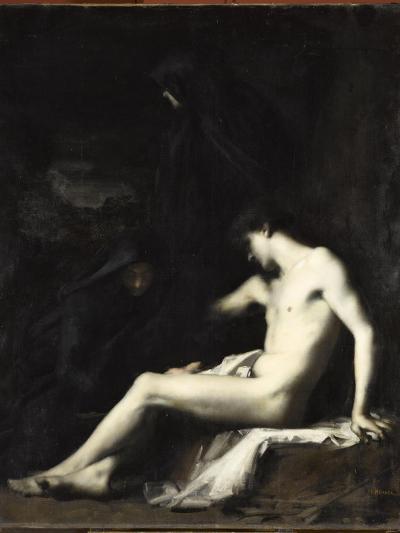 Saint S?bastien-Jean Jacques Henner-Giclee Print